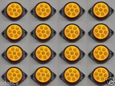 16 x 7 LED Luces Ámbar para marcado LATERAL 24v Camión Chasis de Remolque DAF