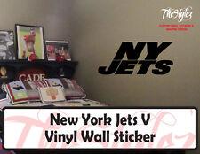 New York Jets Logo V Vinyl Wall Sticker