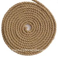 18mm CORDA DI JUTA fibra di iuta a vela in twisted hessian