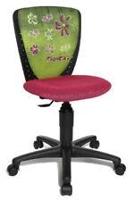 Topstar Nic Flowers Chaise de bureau pour enfant Noir/rose