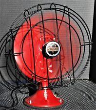 Vintage 1920's Cincinnati Victor Company Oscillating Lollipop Fan WORKS!!!
