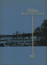 REPRINT: 1967 1968 Oneonta High School Yearbook - Oneonta New York