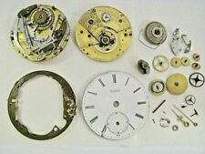Antique BARRAUD London REPEATER Fusee Gilt Pocket Watch MOVEMENT PARTS / RESTORE