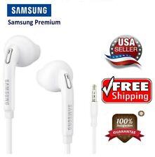 New OEM Original Samsung Galaxy Earphones Earbuds White Headphone S5 S6 S7 S8 S9