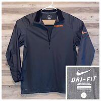 Nike Oklahoma State University Pullover Windbreaker Mesh Lined Mens Size Large