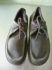 Naot womens Green Suede saddle oxxford  Shoes sz  42 9.5 to a 10