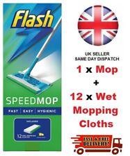 Flash Speedmop Starter Kit All-in-One Speed mop With 12 wet cloths