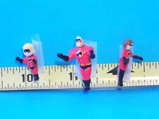 The Incredibles Dash Helen Bob Characters Figure Disney Dollhouse Miniatures