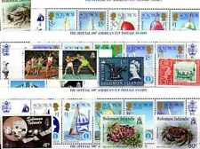 Iles Salomon - Salomon Islands 300 timbres différents