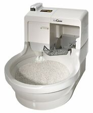 CatGenie Self Washing Self Flushing Cat Box/OPEN BOX  RETURNed ,with supplies