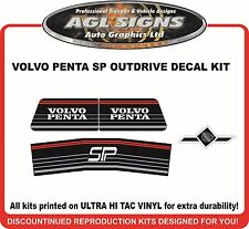 VOLVO PENTA SP STERN DRIVE Outdrive Decal Kit  reproductions