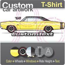Custom T-shirt for 68 1968 dodge Coronet R/T RT 440 500 De Luxe 426 Hemi Fans