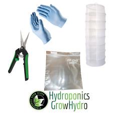 Plant Dryer Starter Kit - drying net, scissors, gloves & Zip-Zag bags