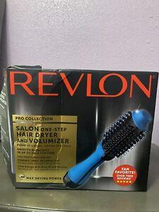 Revlon Salon One-Step Hair Dryer & Volumizer Pro Collection Blue RVDR5222BLU
