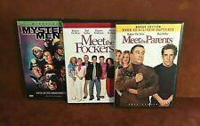 Lot Of (3) Ben Stiller Dvds ~ Mystery Men ~ Meet The Parents ~ Meet The Fockers