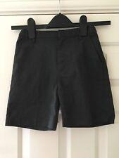 TU Boys Grey School Shorts Size 7 Years