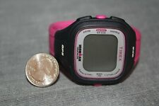 Womans's TIMEX GPS IRONMAN TRIATHLON DIGITAL Pink & Black Mo33 T5K747 Y7