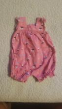 Carters Baby Girl Size Nb Romper