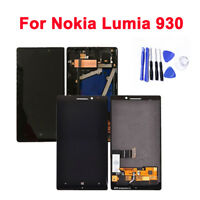 For Nokia Lumia 930 Black LCD Display+ Touch Screen Digitizer Replacement+ Tools