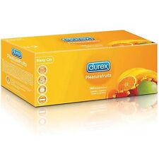 144 Preservativi  DUREX TROPICAL Fragola Banana Arancia Mela Box Sigillato  Ce
