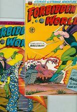 Forbidden Worlds #127, #128, #129, #130