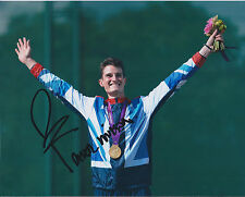 Peter WILSON Autograph 10x8 Signed Photo AFTAL COA British Olympic Gold Medal