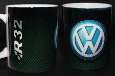 MUG TAZA TASSE CUP VOLKSWAGEN VW LOGO TDI R R32 GTI GOLF PASSAT POLO SCIROCCO