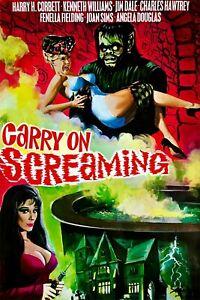 CARRY ON SCREAMING REEL 4 ONLY SUPER 8 COLOUR SOUND 600FT CINE FILM 8MM DERANN