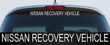 For Landcruiser Hilux Triton NISSAN RECOVERY VEHICLE 600mm 4x4 DECAL