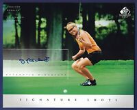 Jennifer Rosales 2004 Upper Deck SP Signature Golf 8x10 Signature Shots #JR