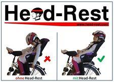 Fahrradkindersitz Britax Römer Jockey Relax Schlafhalterung Kopf Schutz Zubehör