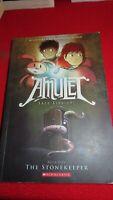 Amulet Book One The StoneKeeper Scholastic #1  anime manga comic books