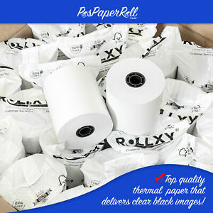 """EPSON TM-T88V (3-1/8"""" x 230') THERMAL PAPER - 30 NEW ROLLS *FREE SHIPPING*"""