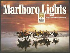 MARLBORO cigarettes - Here comes the cavalry -1994 Print Ad