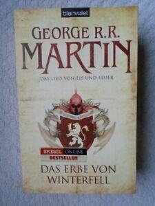 """""""Das Lied von Eis und Feuer"""" Band 2: DAS ERBE VON WINTERFELL von G.R.R.Martin"""