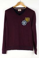 Tommy Hilfiger Herren Pullover Sweatshirt Strickjacke Größe M ADZ557