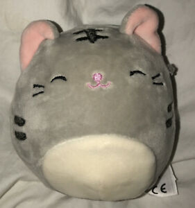 """New Squishmallows 4"""" Tally the cat plush slow rise"""