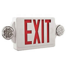 Lithonia Lighting Lhqm Led R Ho Exit Sign Withemergency Lights3wred