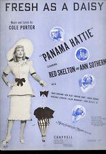 """Panama Hattie Sheet Music """"Fresh As A Daisy"""" Ann Sothern"""