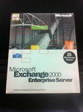 MS Exchange Server 2000 Enterprise Edition inkl. 25 CAL Eng. mit MwSt-Rechnung