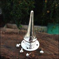 Brass Long Silver Spike For German Leather Helmet Pickelhaube WWI AND WW II
