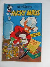 1x Comic Walt Disney Micky Maus 6. September 1958 Nr.35 Zustand 2-3