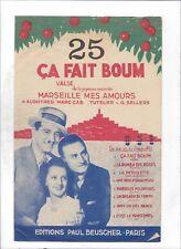 Mireille Ponsard  :  Marseille mes Amours  +  Ca fait boum!