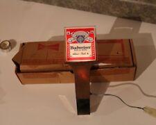 Budweiser Beer Illuminated Tap Handle -