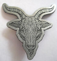 BAPHOMET METALL PIN # 1 TEUFEL DEVIL ANSTECKER BADGE BUTTON