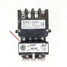 Siemens 14DS 32A* Motor Starter 27 MAX A 600 VAC