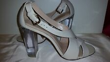 *NEW* TALBOTS WHITE - HALF WHITE PATENT LEATHER 4' SHOES Sz 10 Rt $149 *SOLD OUT