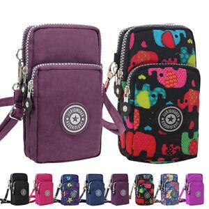 Ladies Cross Over Bag Style Shoulder Messenger Body Bags Wristlet Handbag Clutch