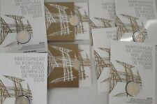 PORTUGAL 2 euros Coincard  BU 2021 Jeux Olympiques Tokyo  -  rare 5000ex✔