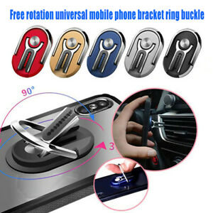 UNIVERSAL 360 DEGREE ROTATING CAR AIR VENT MOUNT FINGER RING PHONE HOLDER STAND
